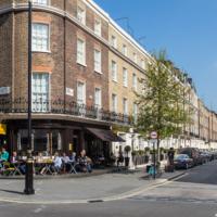 Ebury Street view